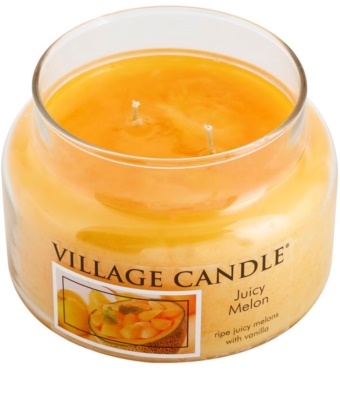 Village Candle Juicy Melon Duftkerze   kleine 1