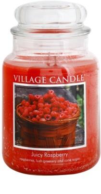 Village Candle Juicy Raspberry vela perfumado  grande