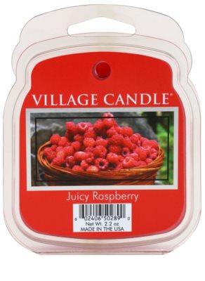 Village Candle Juicy Raspberry cera para lámparas aromáticas