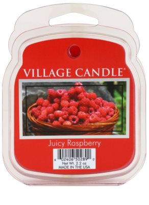 Village Candle Juicy Raspberry vosk do aromalampy