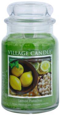 Village Candle Lemon Pistachio vela perfumada   grande