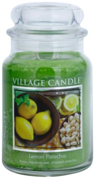 Village Candle Lemon Pistachio vela perfumado  grande