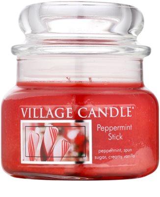 Village Candle Peppermint Stick vonná sviečka  malá