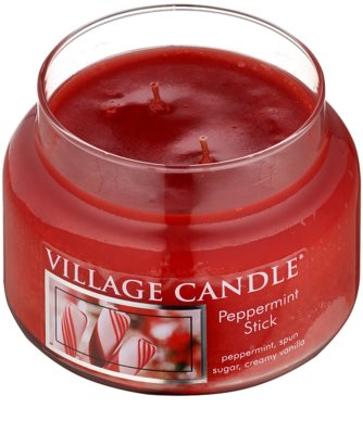 Village Candle Peppermint Stick vonná sviečka  malá 1