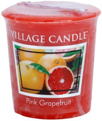 Village Candle Pink Grapefruit votivní svíčka
