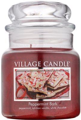 Village Candle Peppermint Bark ароматизована свічка   середня