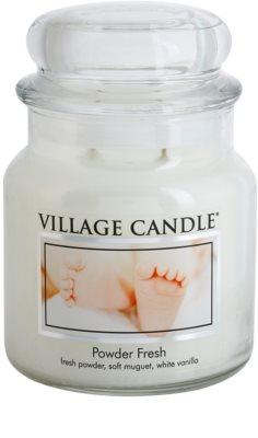 Village Candle Powder fresh Duftkerze   mittlere