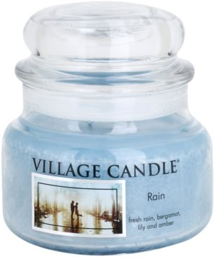 Village Candle Rain vela perfumado  pequeno