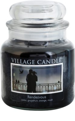 Village Candle Rendezvous vela perfumada   mediano