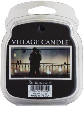 Village Candle Rendezvous cera derretida aromatizante