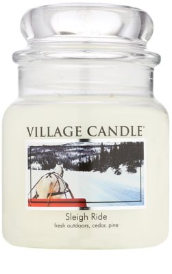 Village Candle Sleigh Ride vonná svíčka  střední