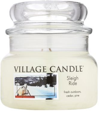 Village Candle Sleigh Ride vela perfumado  pequeno