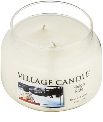 Village Candle Sleigh Ride vela perfumado  pequeno 1