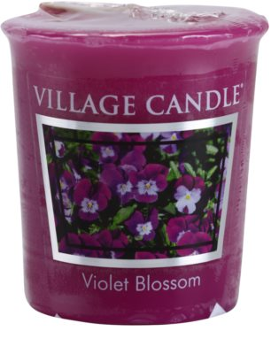 Village Candle Violet Blossom Votivkerze