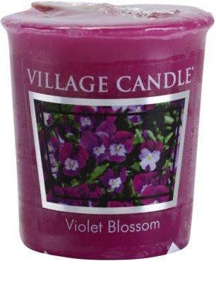 Village Candle Violet Blossom votivní svíčka