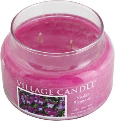 Village Candle Violet Blossom vela perfumado  pequeno 1