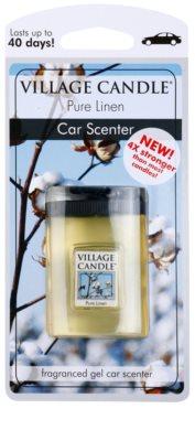 Village Candle Pure Linen ambientador para coche
