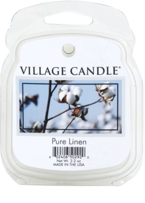 Village Candle Pure Linen wosk zapachowy