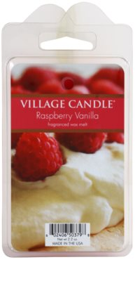 Village Candle Raspberry Vanilla cera para lámparas aromáticas