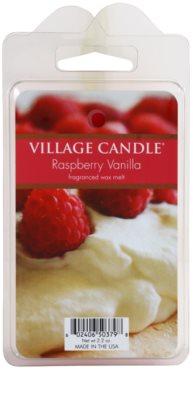 Village Candle Raspberry Vanilla vosek za aroma lučko