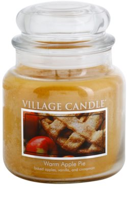 Village Candle Warm Apple Pie Scented Candle  Medium