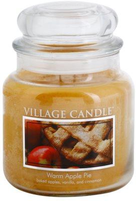 Village Candle Warm Apple Pie świeczka zapachowa   średnia