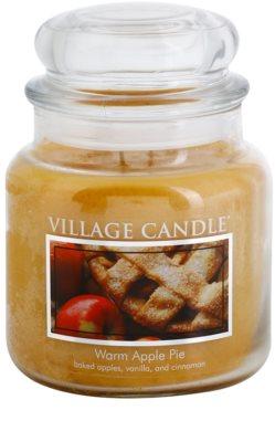 Village Candle Warm Apple Pie ароматна свещ   среден