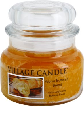 Village Candle Warm Buttered Bread vela perfumado  pequeno