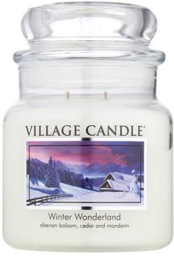 Village Candle Winter Wonderland vonná sviečka  stredná