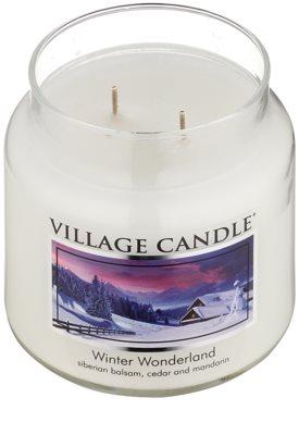 Village Candle Winter Wonderland Duftkerze   mittlere 1