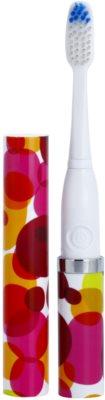 Violife Slim Sonic Bubbles baterijska sonična zobna ščetka z nadomestno glavo