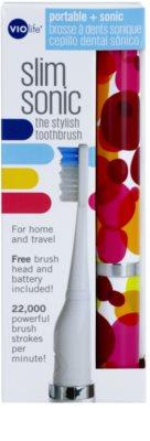 Violife Slim Sonic Bubbles bateriový sonický kartáček s náhradní hlavicí 3