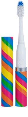 Violife Slim Sonic Carnival Baterie periuță de dinți sonic, cu cap de rezervă