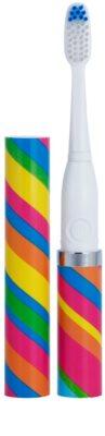 Violife Slim Sonic Carnival escova de dentes sónica elétrica com cabeça de reposição