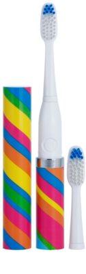 Violife Slim Sonic Carnival Baterie periuță de dinți sonic, cu cap de rezervă 1