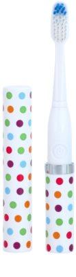 Violife Slim Sonic Confetti Baterie periuță de dinți sonic, cu cap de rezervă