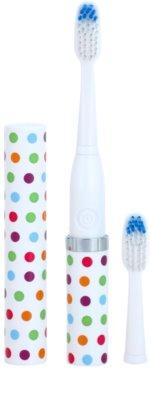 Violife Slim Sonic Confetti baterijska sonična zobna ščetka z nadomestno glavo 1