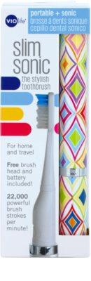 Violife Slim Sonic Crawford cepillo de dientes sónico eléctrico con cabezal de recambio 3