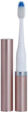 Violife Slim Sonic Rose Gold baterijska sonična zobna ščetka z nadomestno glavo
