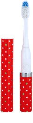 Violife Slim Sonic Holiday Confetti escova de dentes sónica elétrica com cabeça de reposição