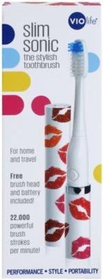 Violife Slim Sonic Kisses електрична зубна щітка на батарейках із запасною головкою 3