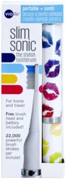 Violife Slim Sonic Lipsmack cepillo de dientes sónico eléctrico con cabezal de recambio 3