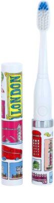 Violife Slim Sonic London електрична зубна щітка на батарейках із запасною головкою