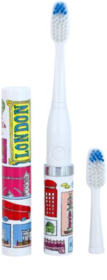 Violife Slim Sonic London електрична зубна щітка на батарейках із запасною головкою 1