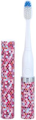 Violife Slim Sonic Mosaic електрична зубна щітка на батарейках із запасною головкою