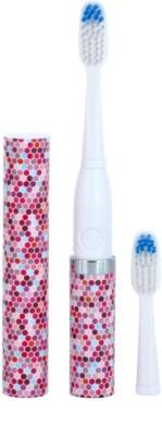 Violife Slim Sonic Mosaic Baterie periuță de dinți sonic, cu cap de rezervă 1