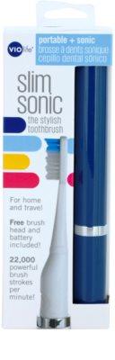 Violife Slim Sonic Ocean Baterie periuță de dinți sonic, cu cap de rezervă 3
