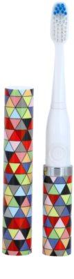 Violife Slim Sonic Prism escova de dentes sónica elétrica com cabeça de reposição