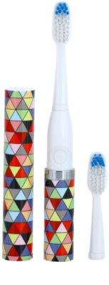 Violife Slim Sonic Prism escova de dentes sónica elétrica com cabeça de reposição 1