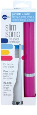 Violife Slim Sonic Purple Baterie periuță de dinți sonic, cu cap de rezervă 3